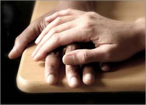 Hand over hand compassion